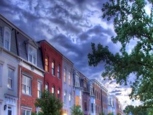 Postal: Barrio residencial