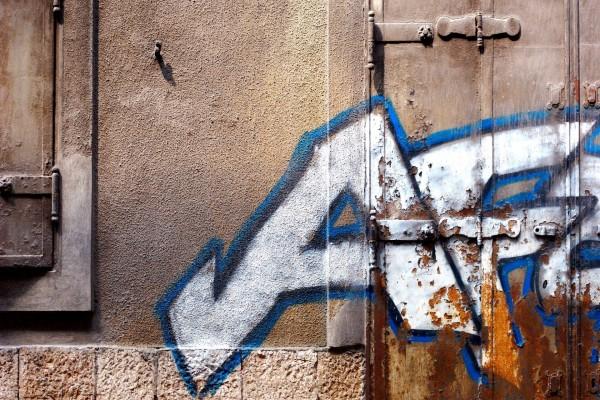 Pintada en la pared