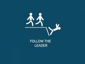Postal: Seguir al líder