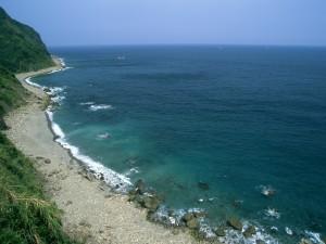 Postal: Playa de piedras