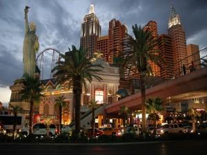 Postal: Noche en New York-New York Hotel y Casino, Las Vegas
