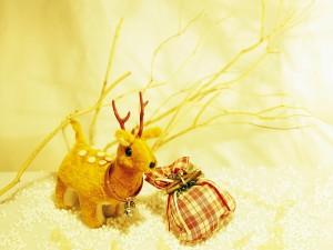 Pequeño reno de Navidad