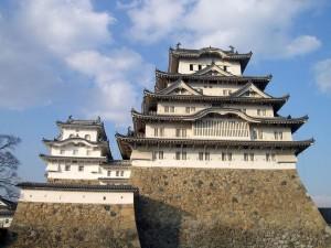 Base de piedra del Castillo Himeji, Japón