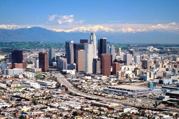 La ciudad de Los Ángeles