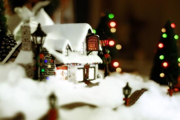 Casita de Navidad