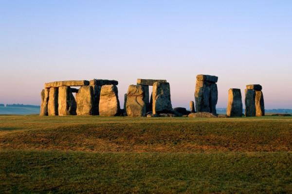 Las grandes piedras de Stonehenge, Reino Unido