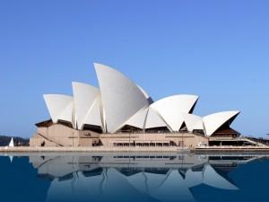 Postal: El edificio de la Ópera de Sídney
