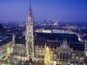 Noche y Navidad en Munich