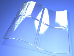 Postal: Windows transparente