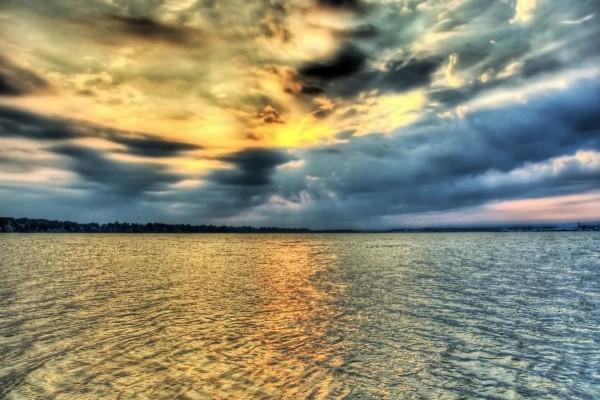 Cielo y agua