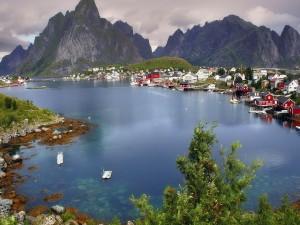 Reine, pueblo pesquero de Noruega