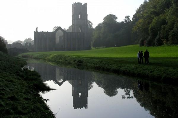 Visita a la Abadía de Fountains, Inglaterra