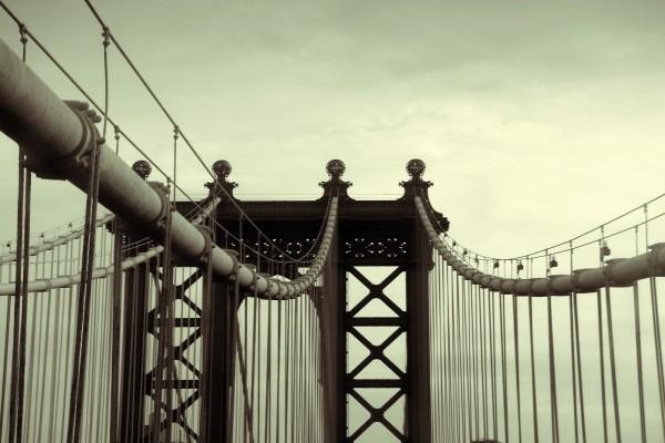 Estructura superior de un puente