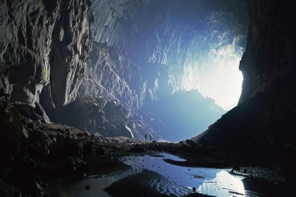 Visita a una gran cueva