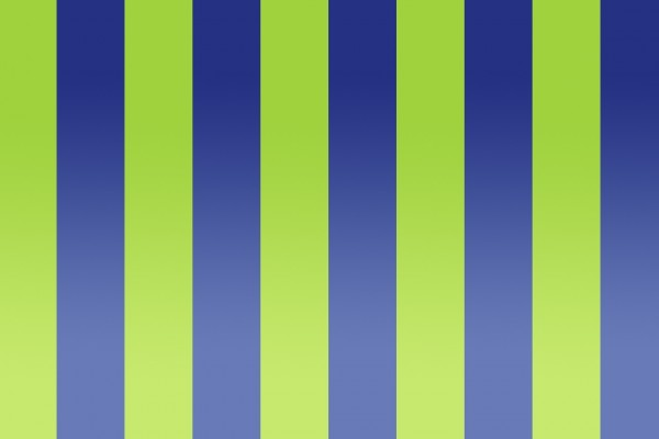 Rayas verdes y azules