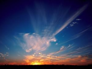 Un bonito cielo