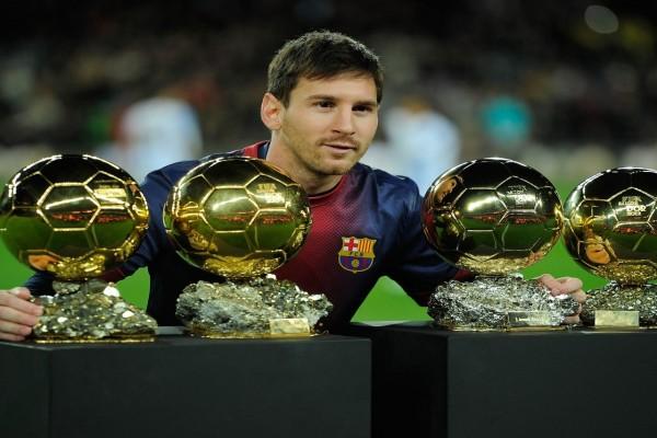 Lionel Messi y sus Balones de Oro