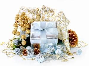 Postal: Regalos navideños