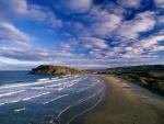Cannibal Bay, The Catlins (Nueva Zelanda)
