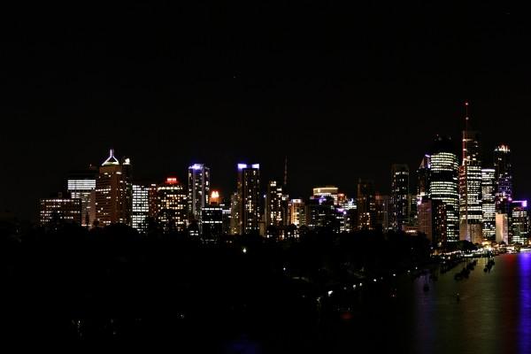 Una estrella en el cielo de la ciudad