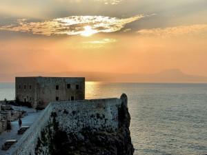 Postal: Fortaleza de Rethymnon, Grecia