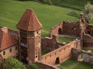 Postal: Castillo de Malbork, Polonia
