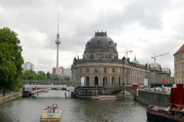 El río Spree en Berlín