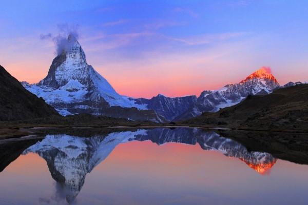 Preciosas vistas al amanecer