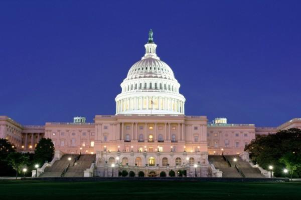 Noche en el Capitolio de los Estados Unidos