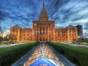 Postal: El Capitolio de Texas