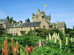 Postal: Castillo Cawdor, Escocia