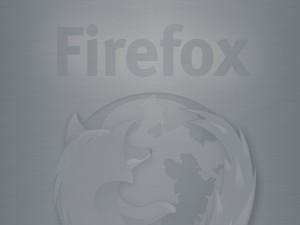 Firefox gris