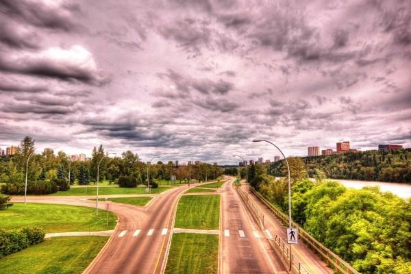 Carreteras con paso de peatones