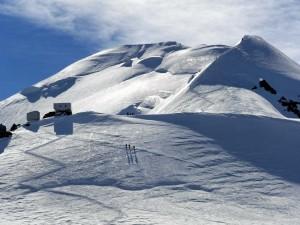 Postal: Escalando el Mont Blanc