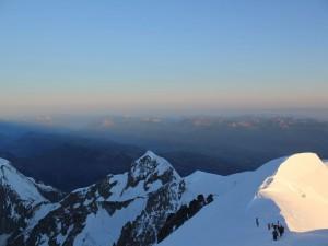 Postal: Ascenso al Mont Blanc