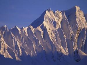 Postal: Montañas en Alaska