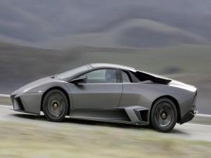 Lamborghini Reventón en movimiento