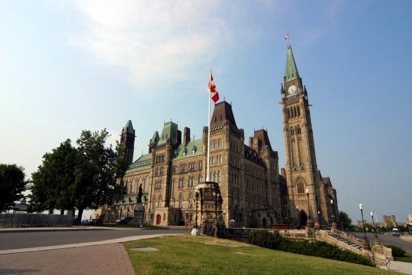 Edificio central del Parlamento de Canadá