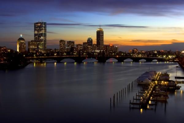 Noche en Boston