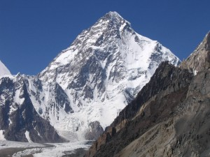 La pared sur del K2