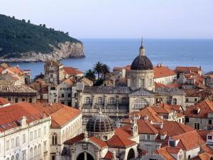Ciudad costera de Dubrovnik, Croacia
