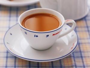 Postal: El café del desayuno