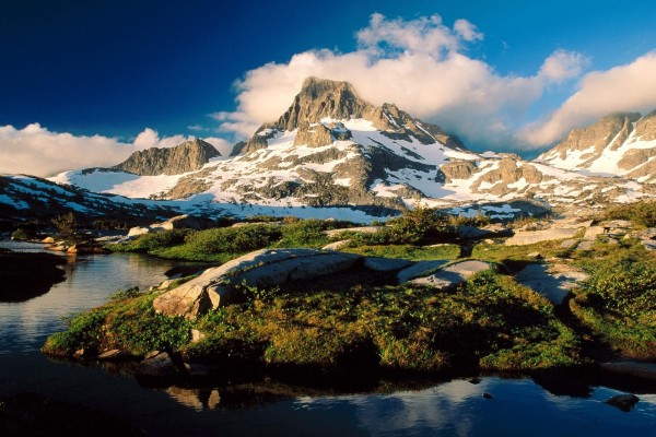 Banner Peak y Thousand Island Lake, Ansel Adams Wilderness, California