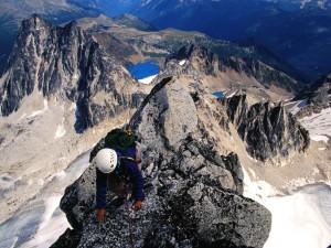 Escalada en el pico Bugaboo Spire, Canadá