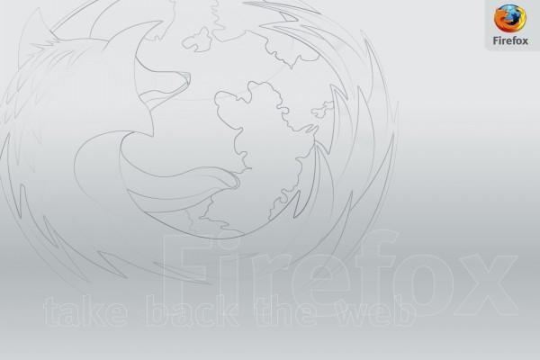 Dibujo de Firefox