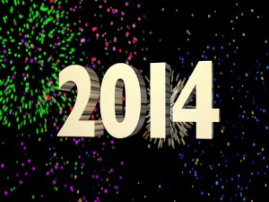 2014 y fuegos artificiales