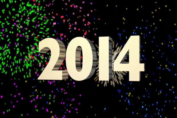 2014 y fuegos artificiales