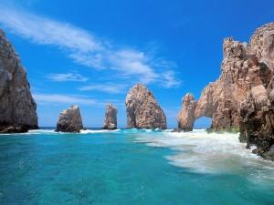 El arco de Cabo San Lucas, México