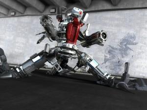 Postal: Robot armado