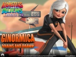 Monsters vs Aliens (Ginormica)